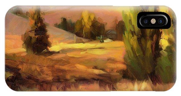 Ranch iPhone Case - Homeland 1 by Steve Henderson