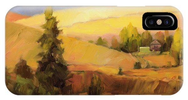 Farmland iPhone Case - Homeland 2 by Steve Henderson