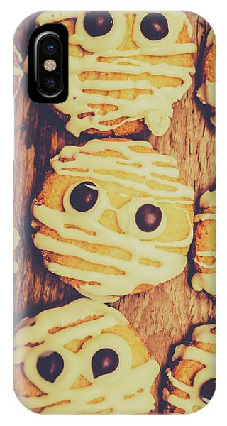 Icing iPhone Case - Homemade Mummy Cookies by Jorgo Photography - Wall Art Gallery