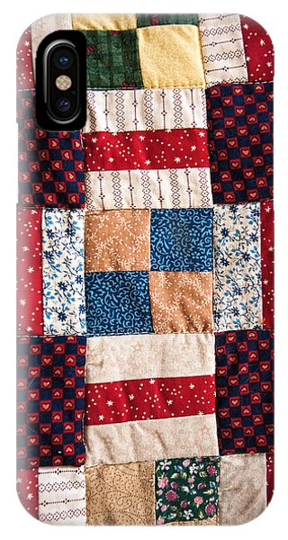 Homemade Quilt IPhone Case