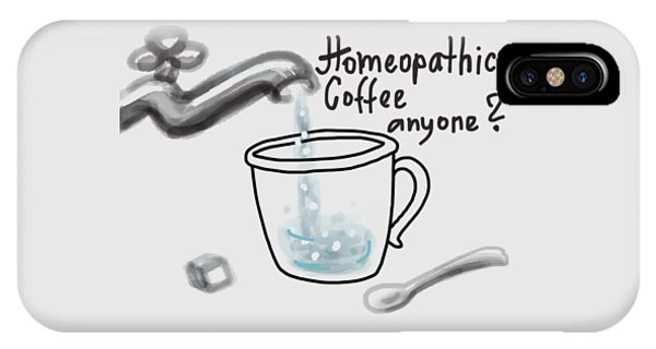 iPhone Case - Homeopathic Coffee by Ivana Westin