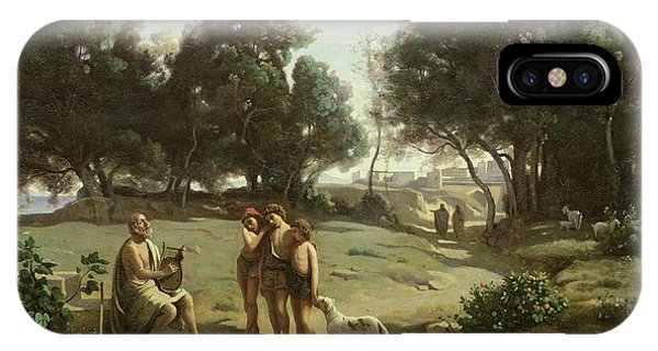 Homer And The Shepherds In A Landscape IPhone Case
