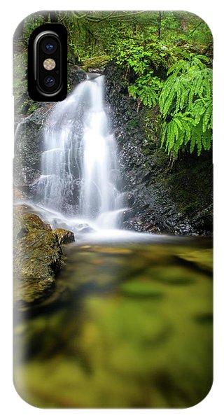 Homesite Falls Autumn Serenity IPhone Case