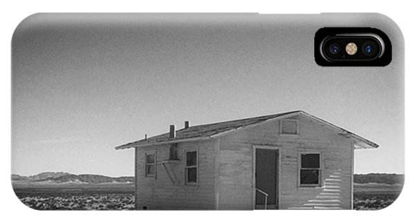 Fineart iPhone Case - Homestead 2. #blackandwhite by Alex Snay