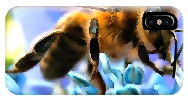 Honey Bee In Interior Design Thick Paint IPhone Case