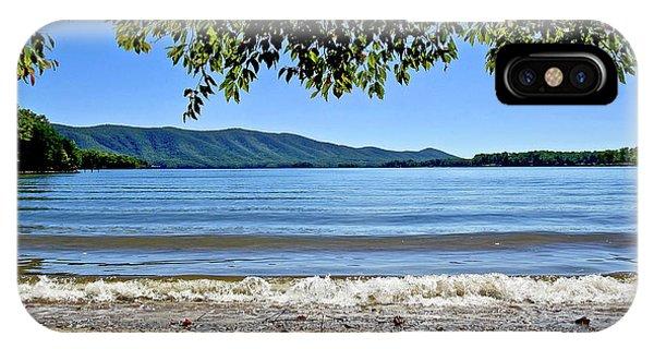 Honey Suckel Cove, Smith Mountain Lake IPhone Case