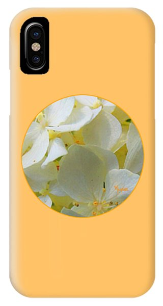 Honeysuckle Blossoms IPhone Case