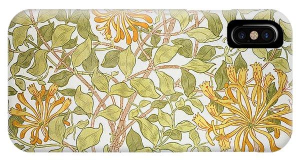Art And Craft iPhone Case - Honeysuckle Design by William Morris
