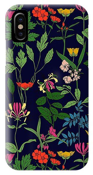 Honeysuckle Floral IPhone Case
