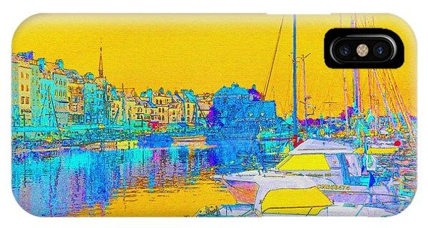 Honfleur Normandy France IPhone Case