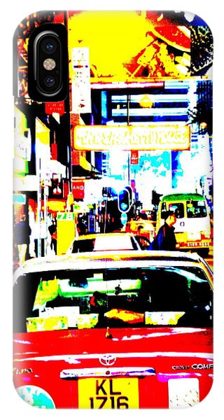 Hong Kong Cabs IPhone Case