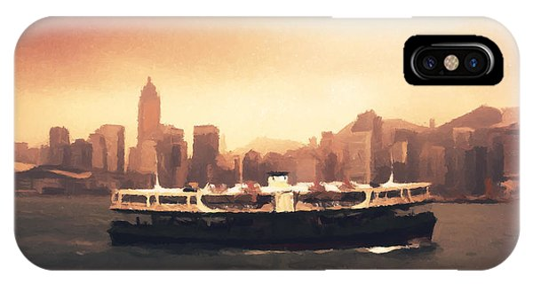 Hong Kong iPhone Case - Hong Kong Harbour 01 by Pixel  Chimp