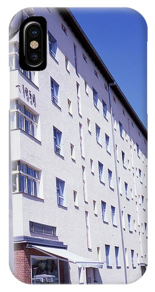 Honk Kong And Building In Berlin IPhone Case