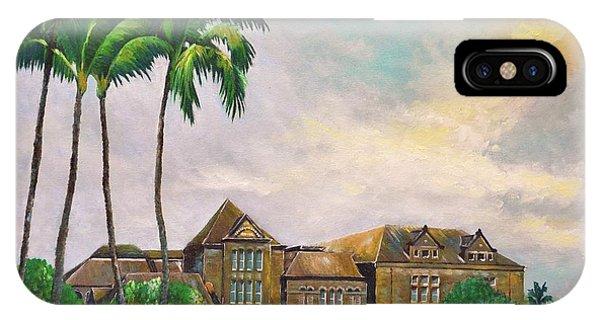 Honolulu Bishop Museum IPhone Case