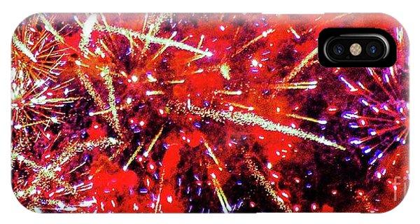 Honolulu Fireworks IPhone Case