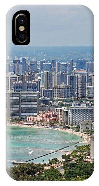 Honolulu Hawaii  IPhone Case
