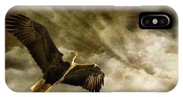 In Flight iPhone Case - Honor Bound by Lois Bryan