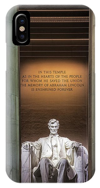 Honored For All Time IPhone Case