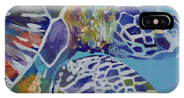 Sea Life iPhone Case - Honu by Marionette Taboniar