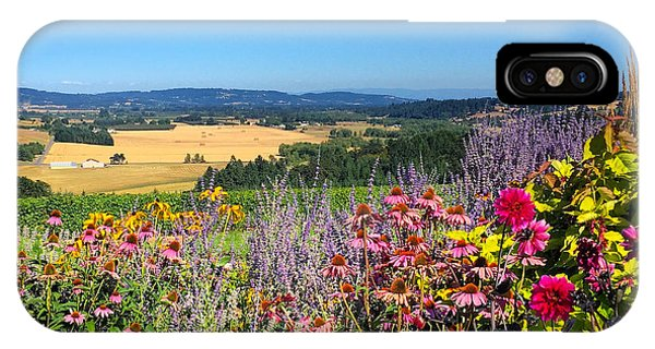 Hood River Valley Flowers IPhone Case