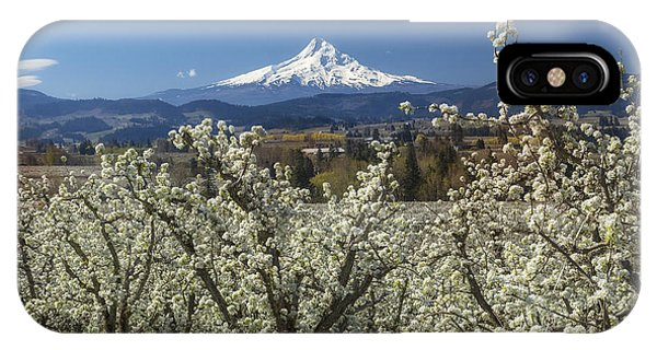 Hood River Valley In Bloom IPhone Case
