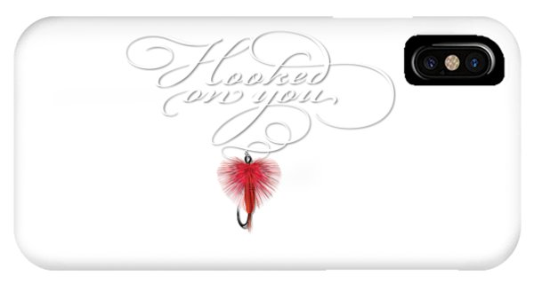 Hooked On You IPhone Case