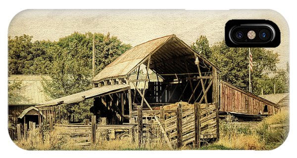 Hooper Hay Shed IPhone Case