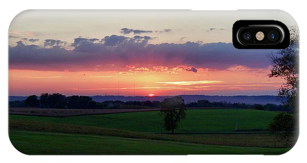 Hoosier Sunset IPhone Case