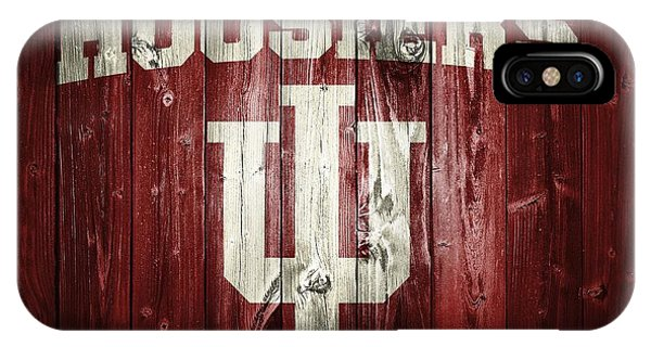 Hoosiers Barn Door IPhone Case