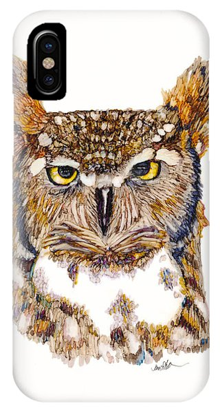 Hoot IPhone Case