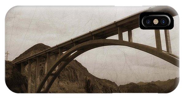 Hoover Dam Bridge IPhone Case