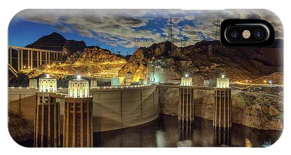 IPhone Case featuring the photograph Hoover Dam by Michael Rogers
