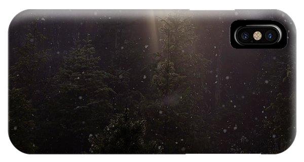Hope And Faith - Winter Art IPhone Case