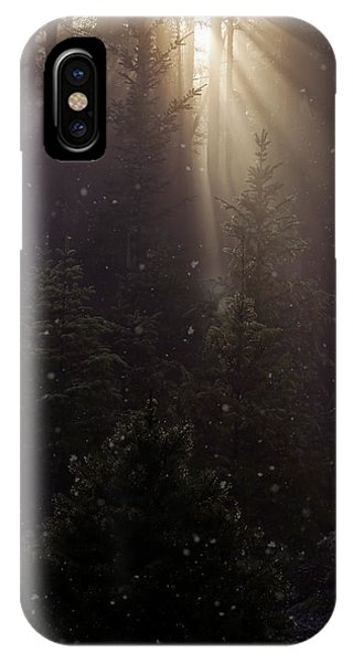 Hope And Faith - Winter Art IPhone Case