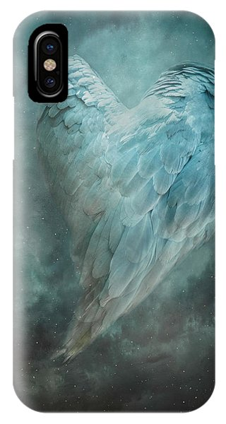 Hope Is The Thing With Feathers IPhone Case