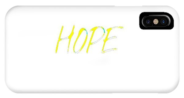 Hope Pineapples IPhone Case