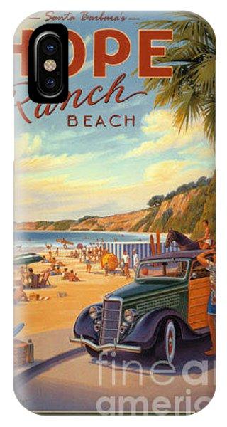 Hope Ranch Beach IPhone Case