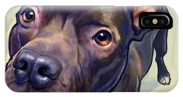 Bull iPhone Case - Hope by Sean ODaniels
