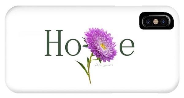 Hope Shirt IPhone Case