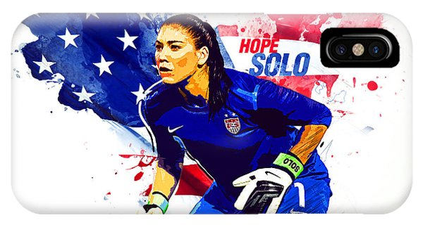 Hope Solo IPhone Case
