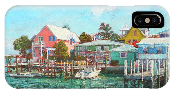 Hope Town By The Sea IPhone Case
