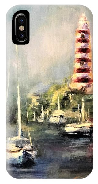 Hope Town Harbor IPhone Case