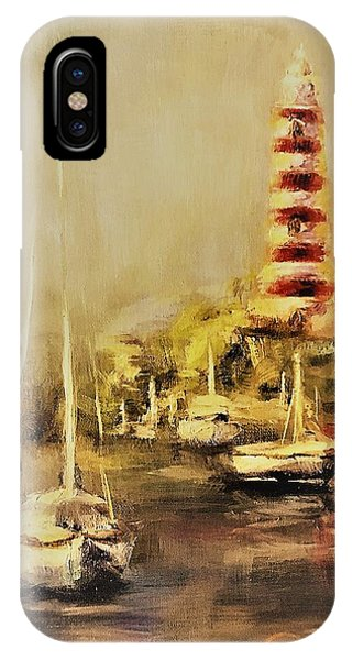 Hope Town Harbor Vintage IPhone Case