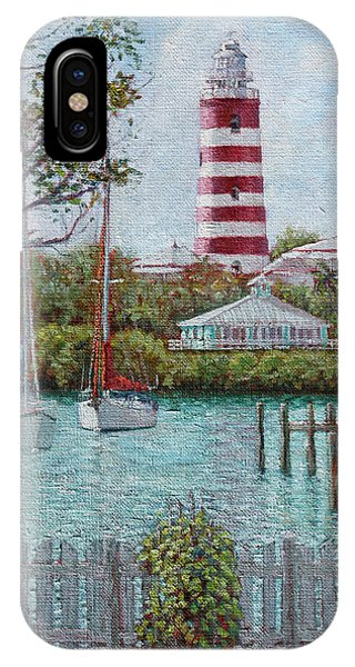 Hope Town Lighthouse IPhone Case