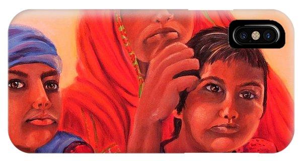 #hopeful In India IPhone Case