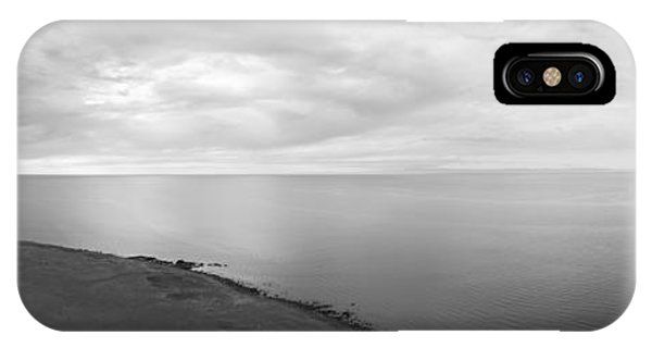 Deep Thought iPhone Case - Hopeless Wanderer Bw by Michael Ver Sprill
