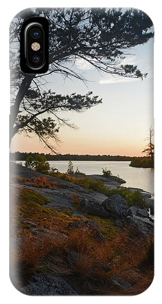Hopewell Bay Island Wild Grass Sunset-1 IPhone Case