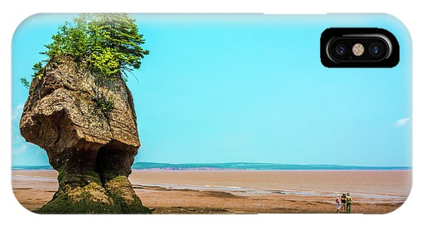 Hopewell Rocks In New Brunswick -  Canada IPhone Case