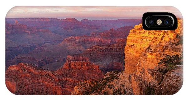 Hopi Point Sunset 3 IPhone Case
