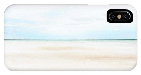 Simple Landscape iPhone Case - Horizon #9 by Scott Norris
